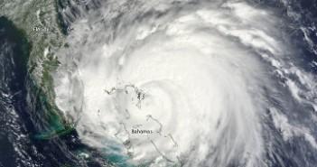 Huragan Irene w dniu 25 sierpnia 2011 / Credits - Jeff Schmaltz, MODIS Rapid Response Team