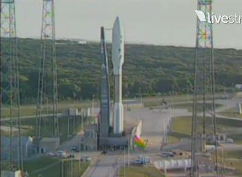 Atlas V z sondą Juno, godz. 7:25 EDT / Credits: SFN