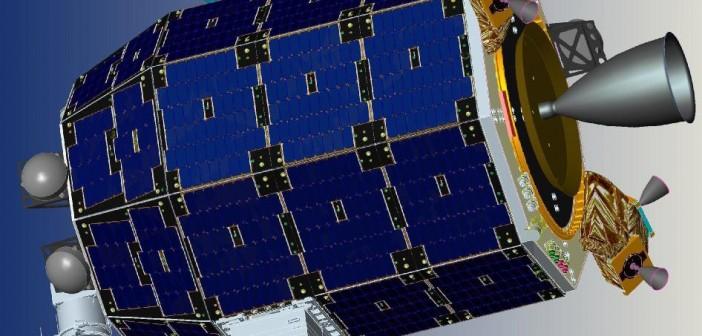 Wizualizacja sondy LADEE / Credits: NASA