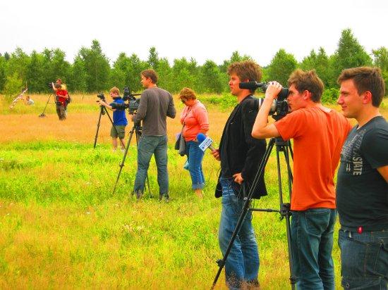 Start Amelii cieszył się sporym zainteresowaniem mediów. Credits: Kamil Glebowicz