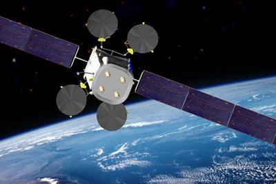 Intelsat-22 - wizualizacja / Credits: Boeing