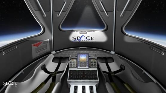 Wnętrze statku SOST / Źródło: Space Adventures