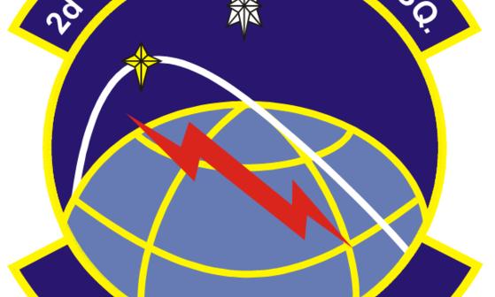 Emblemat 2nd Space Operations Squadron / Credits: USAF - domena publiczna