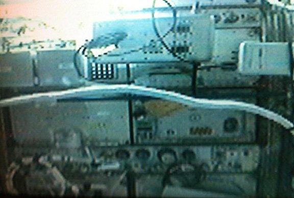 Pierwszy widok Robonauty 2 - 22 sierpnia 2011 roku, wewnątrz modułu Destiny / Credits - NASA