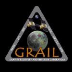 Logo misji GRAIL / Credits: NASA