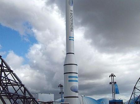 Argentyńska rakieta nośna Tronador II / Fot. Sergio Panei Pitrau
