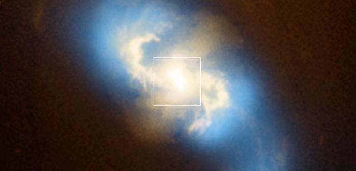 zdjęcie rentgenowskie Credit: NASA/CXC/SAO/G.Fabbiano et al; optyczne: NASA/STScI