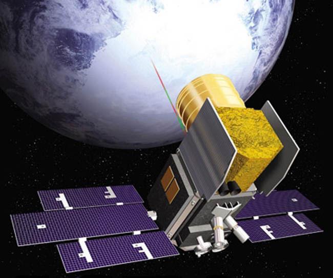 ICESat-2 - wizualizacja / Credits: NASA