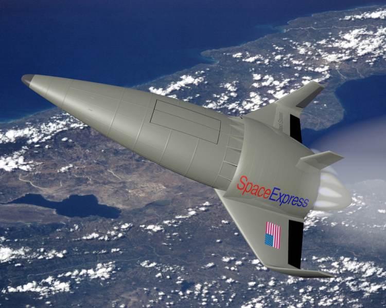 Przykładowy wygląd przyszłych pojazdów kosmicznych / Credit - NASA