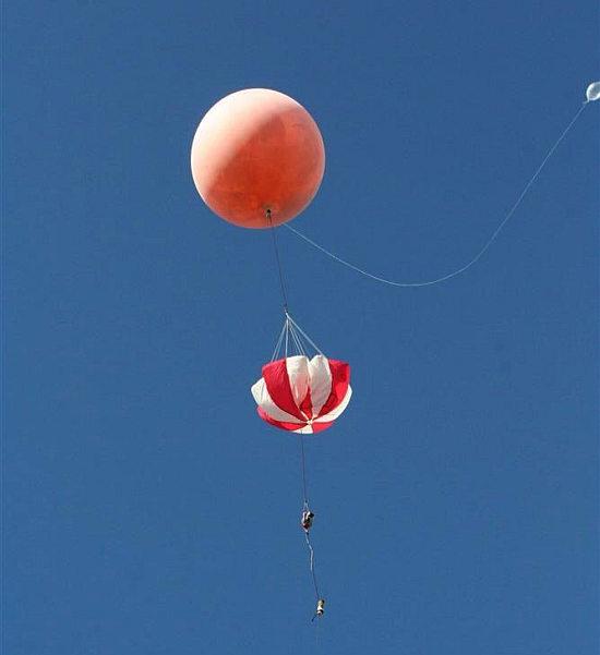 Misja balonowa CP15 wzbija się do lotu (Marcin Górzyński)