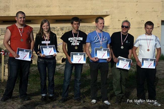 Laureaci konkursów zorganizowanych podczas Festiwalu Meteor 2011 (Marcin Mazur)