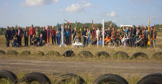 Uczestnicy Festiwalu Meteora, który odbył się w 2011 roku (Marcin Mazur)