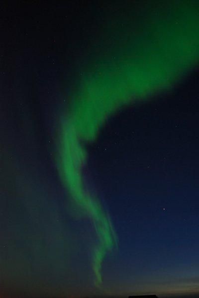 Zorza nad Islandią / Credits - Wioletta Zarzycka