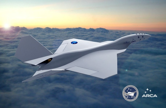 Grafika samolotu IAR-111 / Źródło: ARCA