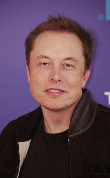Elon Musk – charyzmatyczny założyciel i dyrektor SpaceX / Fot. David Shankbone