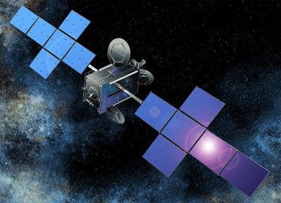 Wizja artystyczna satelity QuetzSat 1 (SES Global)