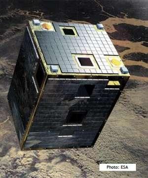 Satelita PROBA / Credits: Spacebel, ESA