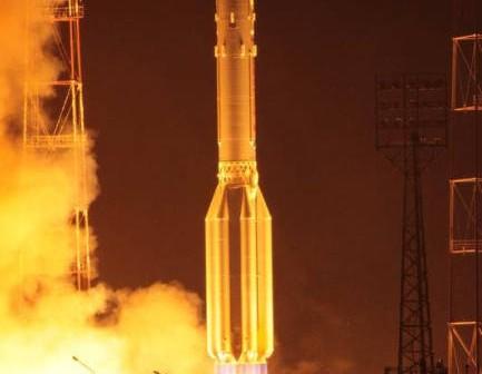 Start rakiety Proton-M z satelitą wojskowym Kosmos 2473 (federalspace.ru)