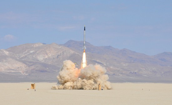 Start rakiety zespołu Qu8k - 30 wrzesnia 2011 / Credits - Gregory L. Mayback