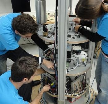 Eksperyment BubJet z 2010 roku / Credits - ESA