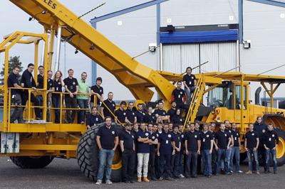 Wspólne zdjęcie uczestników misji BEXUS-12 i 13 / Credits: Swedisch Space Center