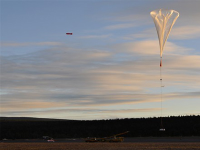 Start balonu BEXUS-13 / Credits: DLR