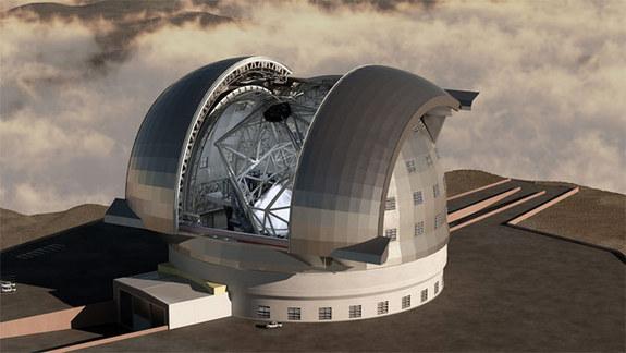 Artystyczna wizja EELT / Credit - ESO