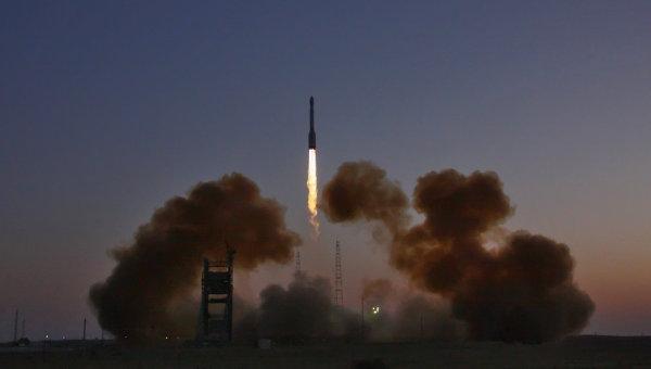 Niedzielny start Sojuza z satelitą Glonass / Credits: RIA Nowosti, Oleg Ursow