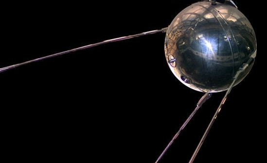 Model Sputnika 1 znajdujący się w NASM w Waszyngtonie / Źródło: NASA
