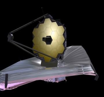 Teleskop JWST / Credits: NASA