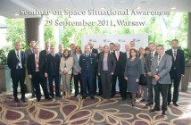 The presenters at the SSA Seminar in Warsaw
