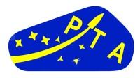 Logo Polskiego Towarzystwa Astronautycznego / Credtis: PTA