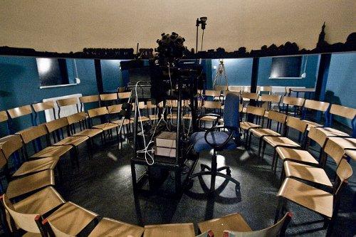 Wnętrze planetarium w Potarzycy / Credits - Planetarium w Potarzycy im. Andrzeja Owczarka