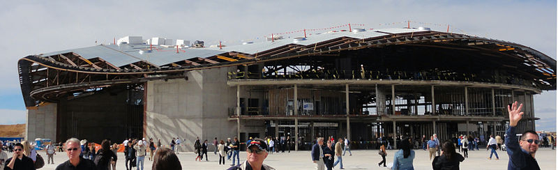 Terminal w trakcie budowy, 22 października 2010 / Credits: J. Simmons, WikiCommons