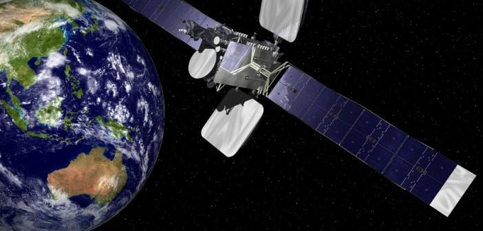 Intelsat-18 - wizualizacja / Credits: Orbital Science Corp.