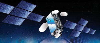 Satelita W3C - wizja artystyczna / Credits: Eutelsat