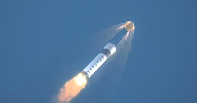 System przerywania lotu Dragona zapewni niespotykane dotąd bezpieczeństwo nawet po awarii rakiety nośnej / Credit - SpaceX