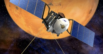 Mars Express - wizualizacja / Credit: ESA