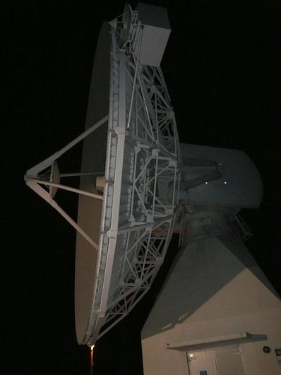 Stacja naziemna łączności satelitarnej ESA w Perth / Credits: ESA