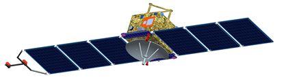 Yinghuo-1 - wizualizacja / Credits: CNSA