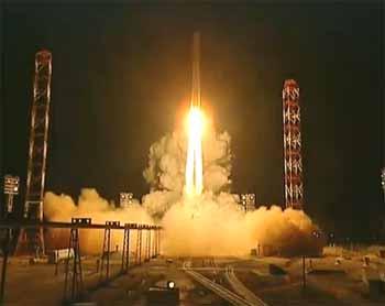 Start rakiety Zenit-2FG z sondą Fobos-Grunt / Credits: Roskosmos