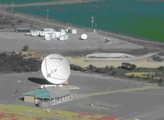 Fragment stacji namierzania i śledzenia Dongara / Źródło: SSC