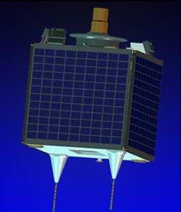 Satelita UK-DMC-1 / Credits: SSTL