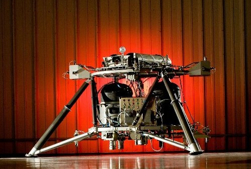Mighty Eagle - prototyp księżycowego lądownika NASA. (Credits: NASA/David Higginbotham)