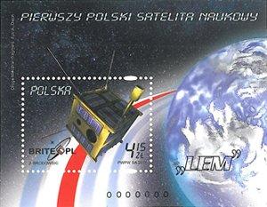 Znaczek BRITE-PL / Credits - Poczta Polska