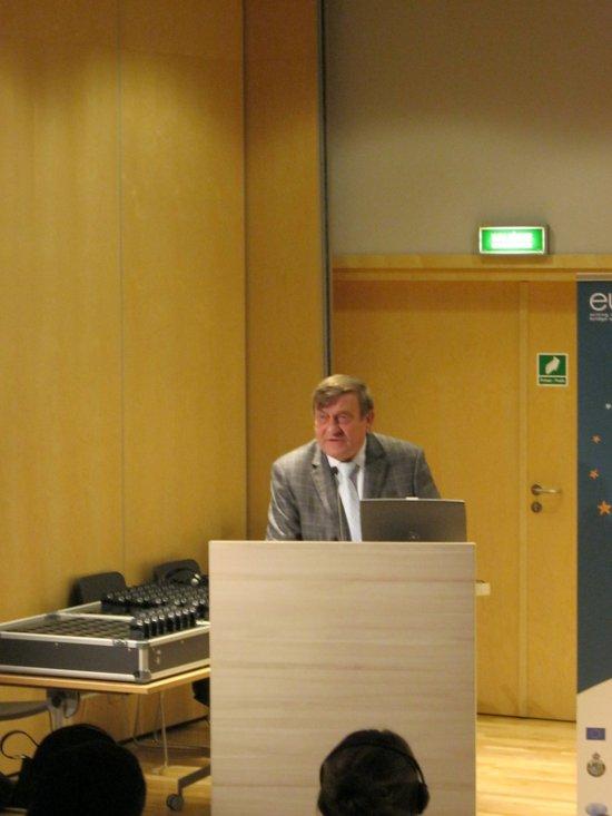 Gen. Mirosław Hermaszewski - gość honorowy konferencji / Credits: Kosmonauta.net
