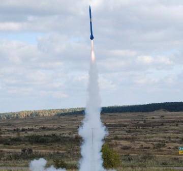 Start rakiety RTP4 / Credits - PTR