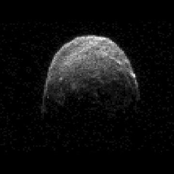 Obraz radarowy 2005 YU55 z 7 listopada 2011 / Credits - NASA, JPL-Caltech