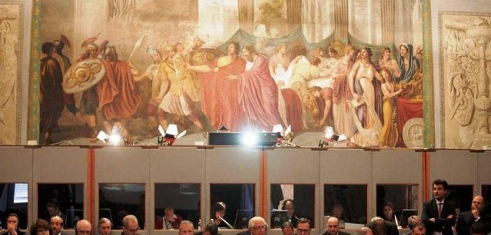 Spotkanie w Lukka odbywało się w Pałacu Dożów / Credits: ESA