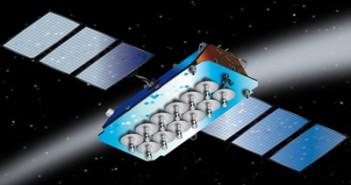 Satelita konstelacji O3b - wizualizacja / Credits: Thales Alenia Space